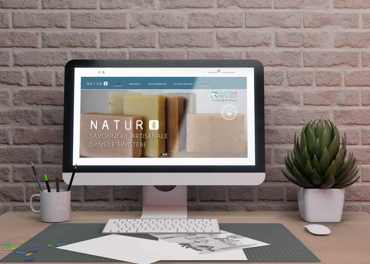 natur BZH site internet création de site les trois chats