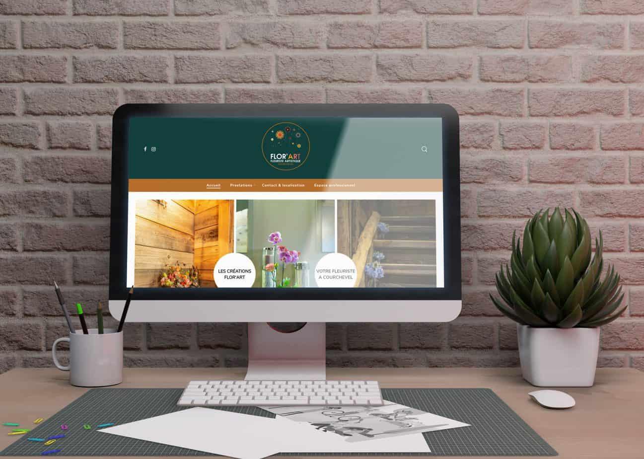 florart fleuriste courchevel création de site internet les trois chats modane